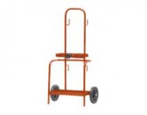 Trolley for 2 gas botlles 5L diam 2 x 120mm
