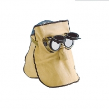 Welding mask leather