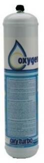 Gas cylinder oxygen for OTT115 Turbo 90 1 L