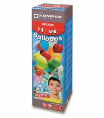 Helium disposable cylinder + 30 balloon 25 cm diam