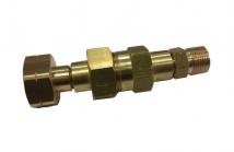 Safety valve nut propane DIN KOMBI - 3/8 L