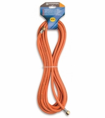 Propane hose 10 meters with 2 fixed connections 3/8