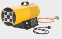 Propane gas heater