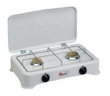 2 flames stove - butane/propane - 28/37 mbar