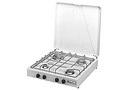 4 flames stove - butane/propane - 28/37 bar