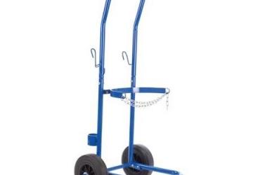 Trolley for gas bottle